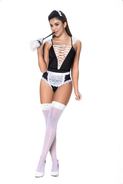 Mapale 6414 French Maid to Clean Lingerie Costume 3PC