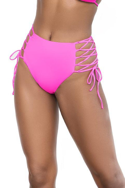 Mapale 6649 High Waisted Swimsuit Bottom - SomethingTrendy.com