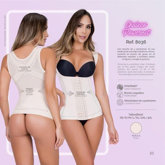 Moldeate 8036 Control Body Shaper Vest