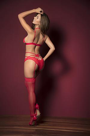 Mapale 8448 Play Up The Romance Two Piece Lingerie Set