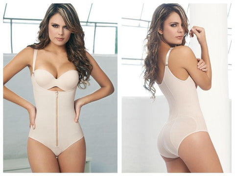 Ann Chery 1042 Powernet Body Shaper Kelly