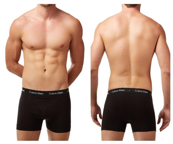 Calvin Klein NU2665-001 Cotton Stretch Trunk 3 Pack