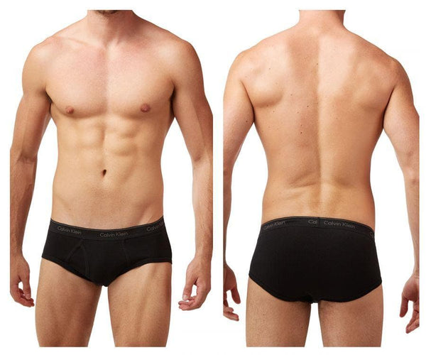 Calvin Klein U4000-001 Cotton Classics Brief 4 Pack