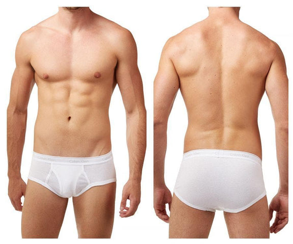 Calvin Klein U4000-100 Cotton Classics Brief 4 Pack