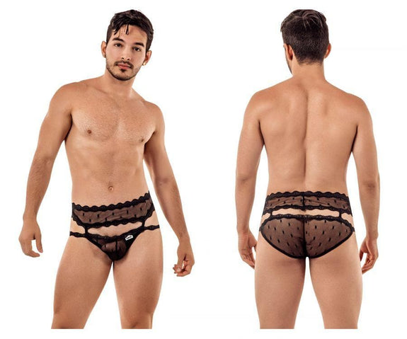 CandyMan 99416 Garter Belt Briefs
