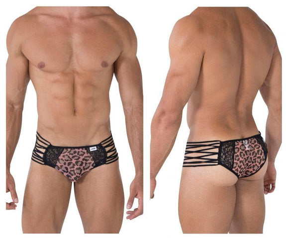 CandyMan 99459 Briefs Color Animal Print
