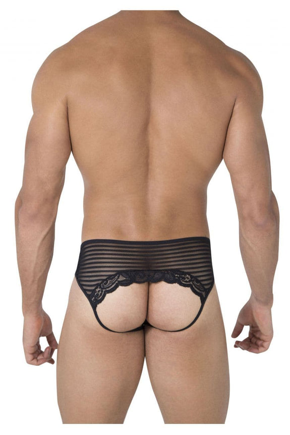 CandyMan 99490 Lace-Mesh Jockstrap - SomethingTrendy.com