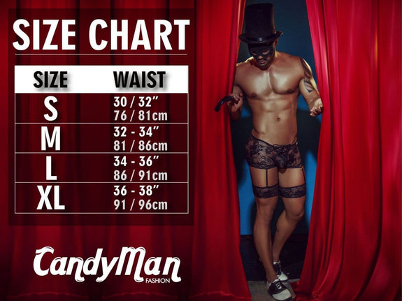 CandyMan 99414 Police Man Costume outfit Briefs