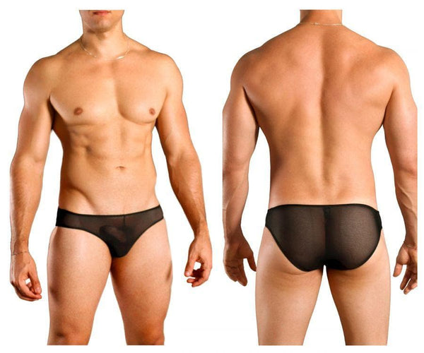 Doreanse 1321-BLK Sexy Sheer Brief