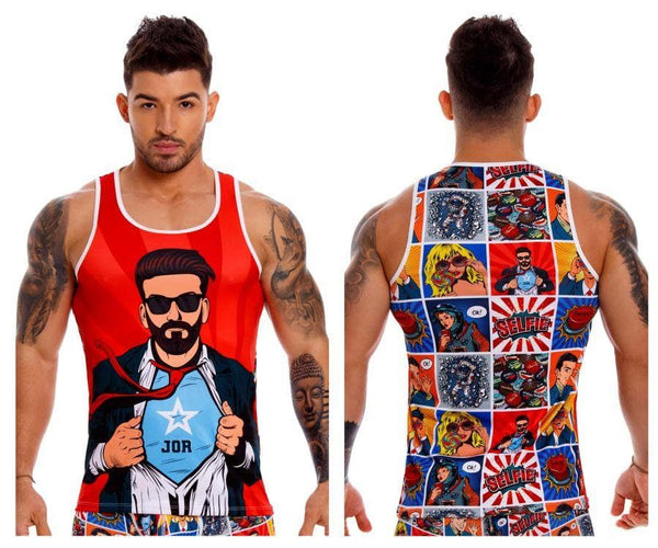 JOR 1134 Comic Tank Top