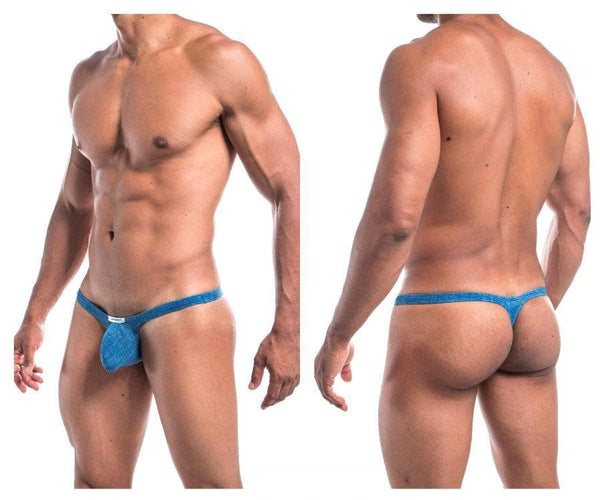 Joe Snyder JSBUL02-Denim Bulge Tanga