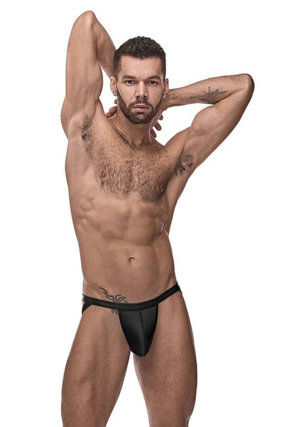 Male Power 352-261 Cage Matte Strappy Ring Jock