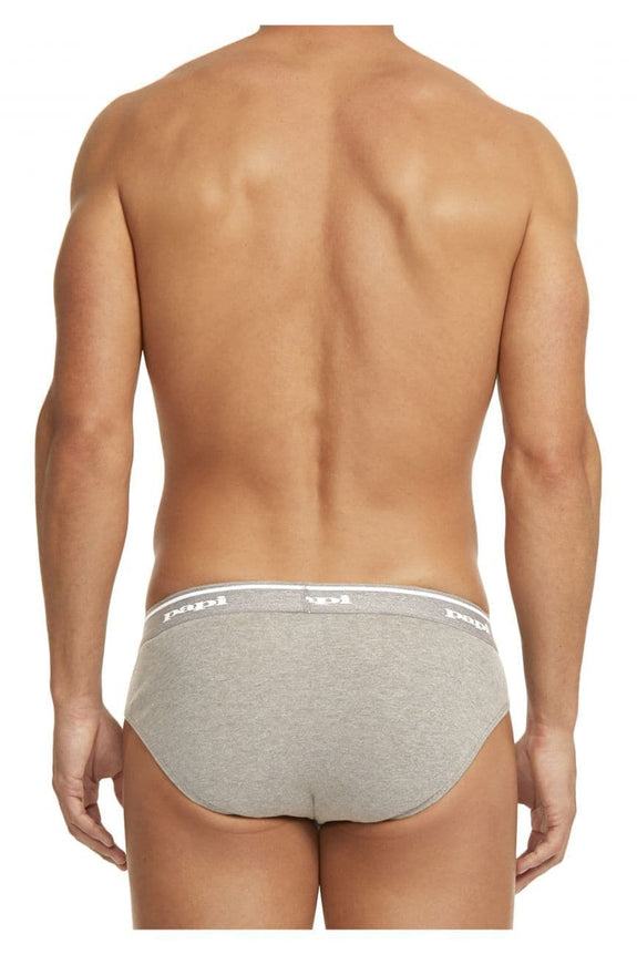 Papi 554101-962 3PK 1X1 Rib Low Rise Brief