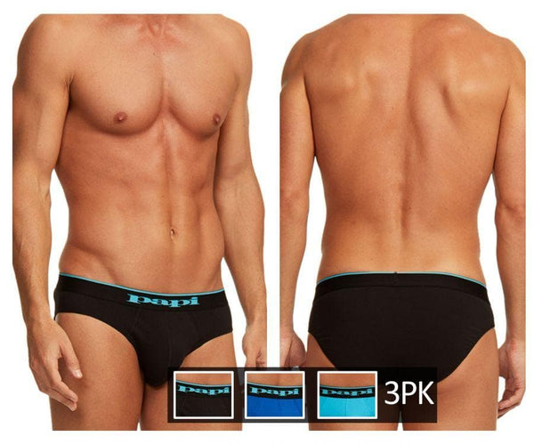 Papi 980403-941 3PK Cotton Stretch Brief