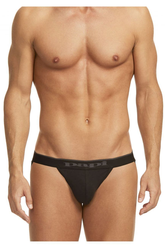 Papi 980911-001 3PK Cotton Stretch Jockstrap