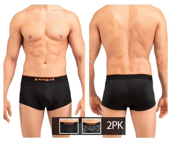Papi MPA002 2PK Brazilian Trunks - SomethingTrendy.com
