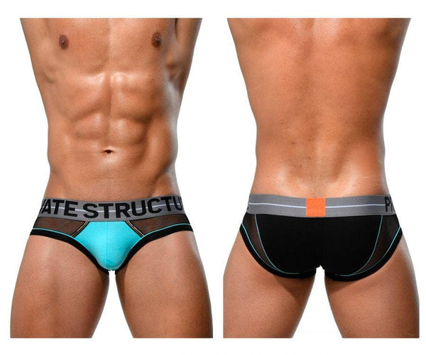 Private Structure MIUY3857 Momentum Orange Mini Briefs