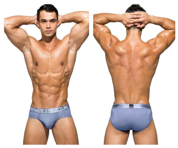 Private Structure PBUZ3748 Platinum Bamboo Contour Briefs - SomethingTrendy.com
