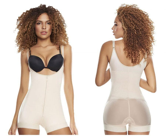 TrueShapers 1200 Slimming Braless Body Shaper in Boyshort