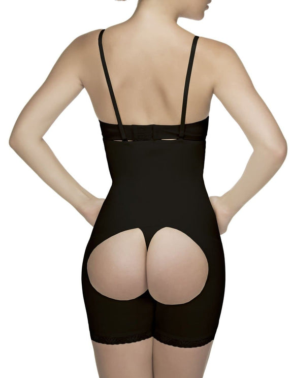 Vedette 504 Isabelle Strapless Mid Thigh Body w/ Buttock Enhancer