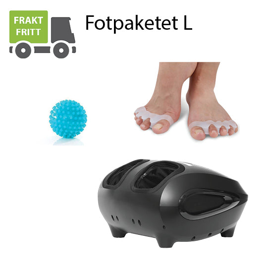 Fotpaket - Large