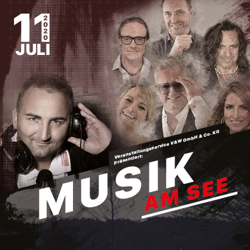 "Musik am See mit der Partyband ""Roof Garden"" & Ostseewelle Party-DJ Alex Stuth"