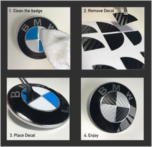 Load image into Gallery viewer, BMW Badge Overlay Decals