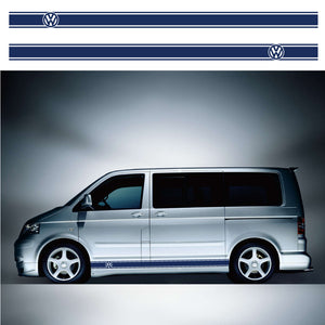 VW Transporter SWB Side Stripes 03