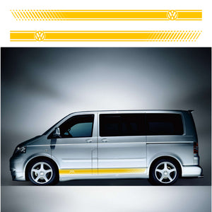 VW Transporter LWB Side Stripes 07 - Autograph-X