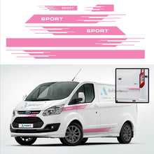 Load image into Gallery viewer, Ford Transit Custom Stripes 04