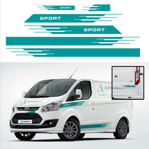 Ford Transit Custom Stripes 04