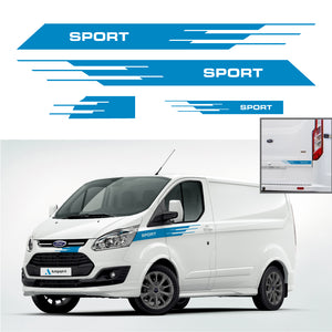Ford Transit Custom Stripes 05 - Autograph-X