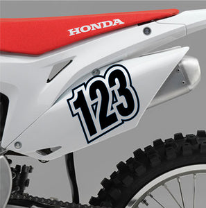 ACU Custom Race Numbers 01 - Autograph-X