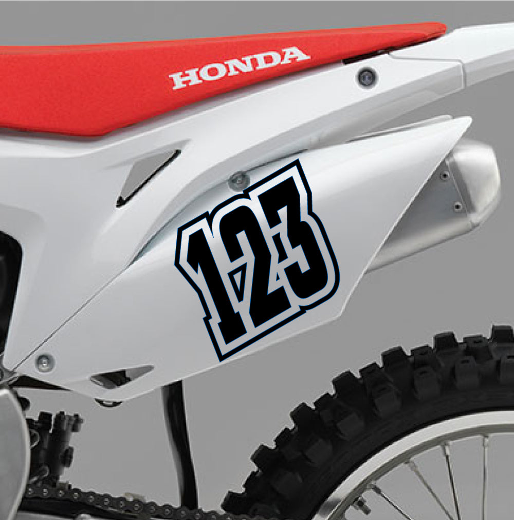 ACU Custom Race Numbers 02 - Autograph-X