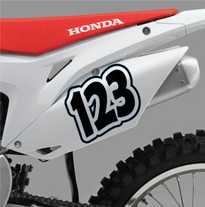 ACU Custom Race Numbers 03 - Autograph-X