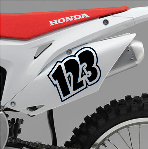 ACU Custom Race Numbers 09 - Autograph-X