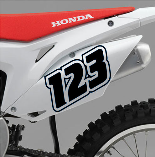 ACU Custom Race Numbers 10 - Autograph-X