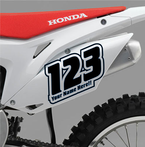 ACU Custom Race Numbers 11 - Autograph-X