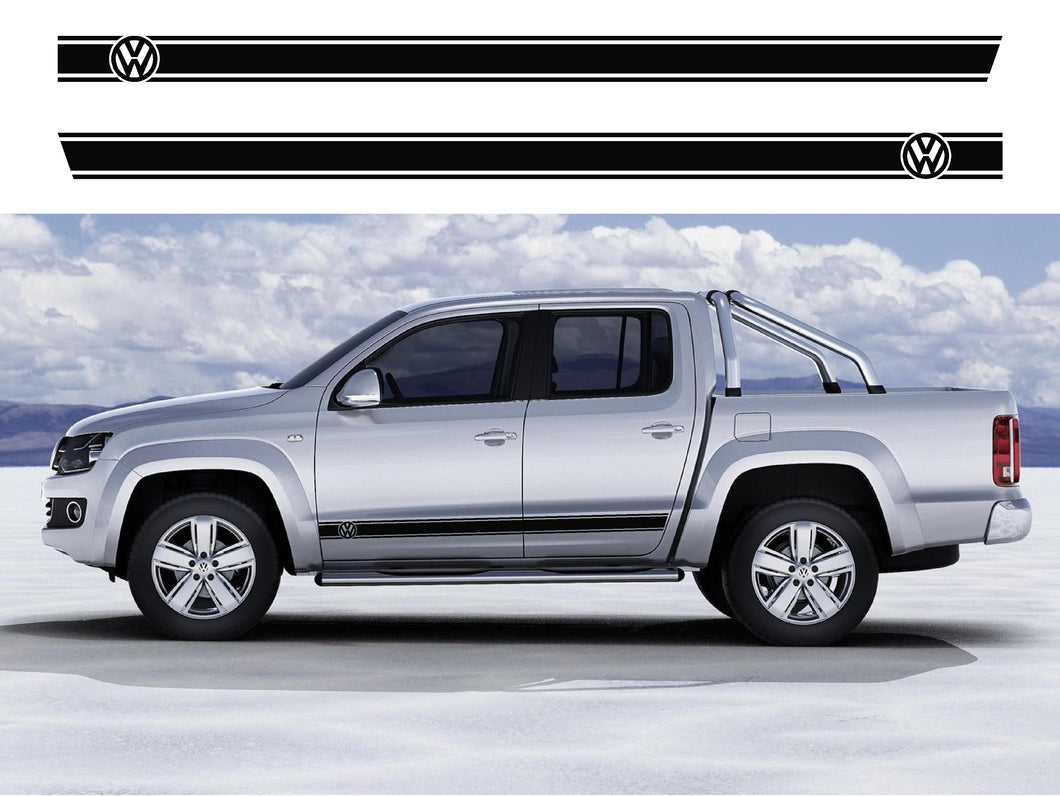 VW Amarok Side Stripes 03 - Autograph-X