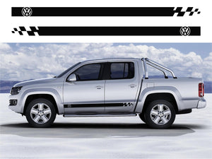 VW Amarok Side Stripes 05 - Autograph-X