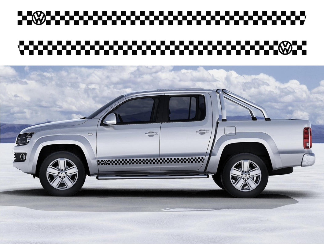 VW Amarok Side Stripes 06 - Autograph-X