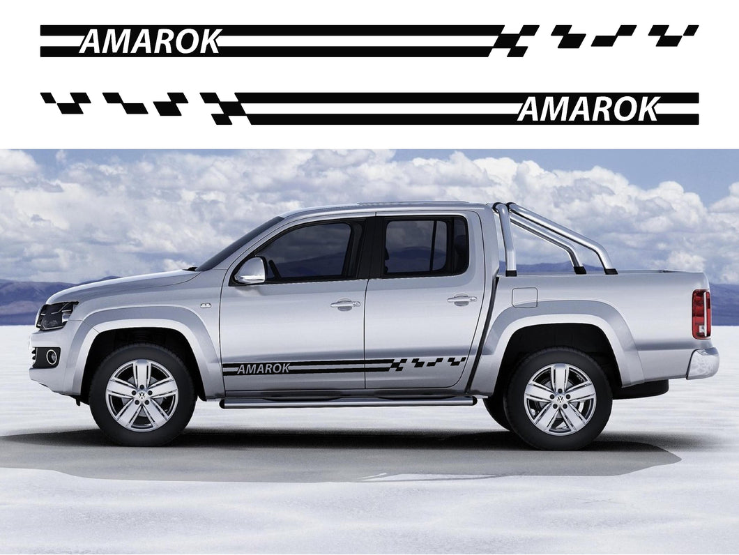 VW Amarok Side Stripes 13 - Autograph-X