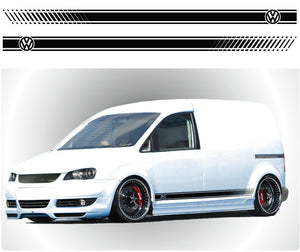 VW caddy Side Stripes 7