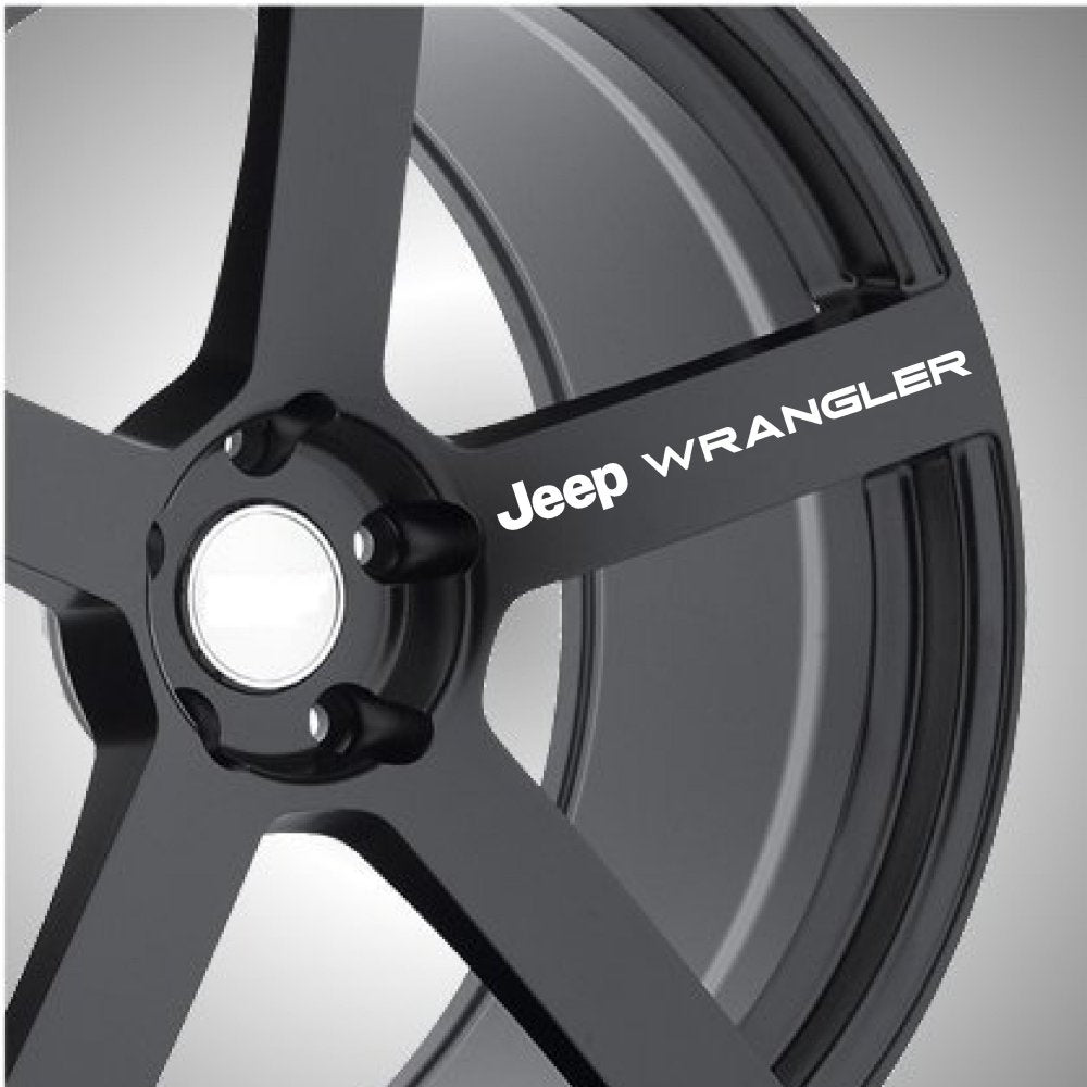 Jeep Wrangler Wheel Graphics (x6) - Autograph-X