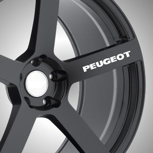 Peugeot Wheel Graphics (x6) - Autograph-X