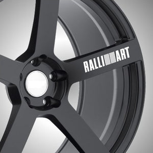 Ralliart Wheel Graphics (x6) - Autograph-X