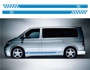 VW Transporter SWB Side Stripes 01 - Autograph-X