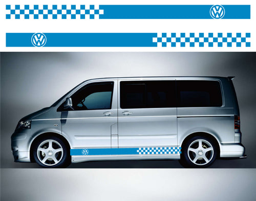 VW Transporter LWB Side Stripes 04 - Autograph-X