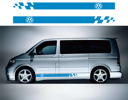 VW Transporter Side Stripes 05 - Autograph-X