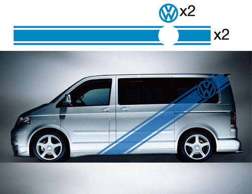 VW Transporter Side Stripes 08 - Autograph-X